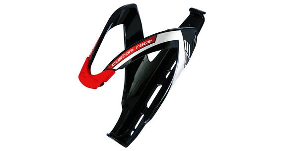 Elite Custom Race Flaschenhalter schwarz/rot glänzend